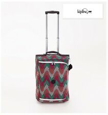 New KIPLING Teagan Cabin Size Case Luggage Bag 2 Wheels Printed Multi-coloured