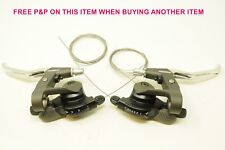PAIR RETRO SHIMANO ACERA X SB-M290 EZI FIRE 21SPD SHIFTERS + BRAKE LEVERS EROICA