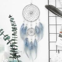 Handmade Dream Catcher With Feathers Car Wall Hanging Decoration Gifts Ornament