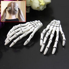 Halloween Party Zombie Skull Skeleton Hand Bone claw Hairpin Punk Hair Clip TOP