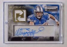2014 Matthew Stafford PLAYBOOK JERSEY RELIC ACETATE AUTO SSP #d/10 Lions RARE!!
