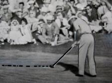1953 Ben Hogan Wire Photo Putting Masters Golf Tournament Champ Augusta National