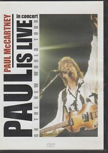 Paul McCartney Is Live Dvd World Tour Beatles