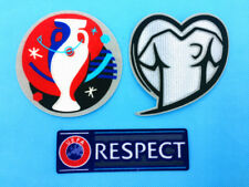 UEFA EURO 2016 Qualifiers Football Soccer Play Respect Jersey Shirt Patch Badge