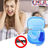 STOP SNORING SOLUTION MOUTHPIECE ANTI SNORE SLEEP BRUXISM APNEA AID MOUTHGUARD