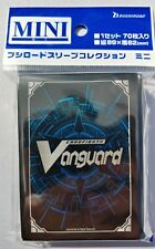 Cardfight Vanguard G Bushiroad Blue Card Back 70ct Sleeve Vol 321