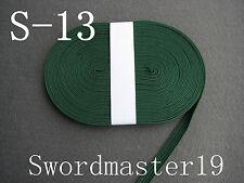 10 M Green Synthetic Silk Tsuka Ito Saya Sageo - Japanese Tanto Katana Wakizashi