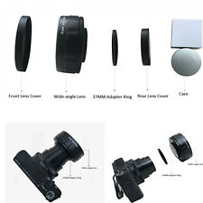 For Sony ZV1 Camera Accessories Super Wide-angle Additional Lens w/ Adapter Ring