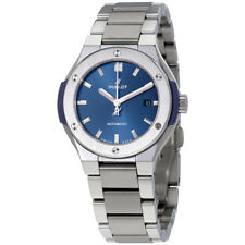 Hublot Classic Fusion Automatic Blue Dial Ladies Watch 585.NX.7170.NX