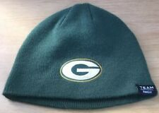 new concept 3021e b1ff1 Green Bay Packers Knit Beanie Cap Hat Youth Large 14-16 Reebok NFL Team  Apparel