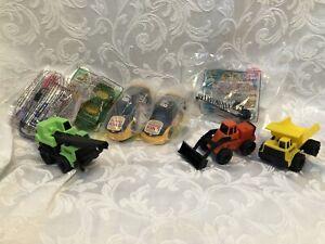 Happy Meals Burger King Hot Wheels Tonka Toy Bundle