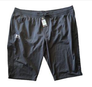 Under Armour Mens Half Headgear Pants Shorts Big Tall Sz 5XL $55 NWT