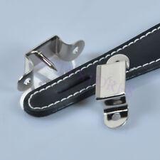 Black Leather Handle For Vintage Guitar Tube Amplifier Audio HIFI AMP DIY New