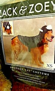 Dog costume, DOGGONE CAT COSTUME, halloween pet costume, xsm., sm. med.