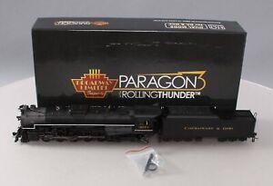 Broadway Limited 4589 Paragon3 HO Chesapeake & Ohio T-1 2-10-4  #3018 w DCC/Box