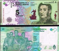 ARGENTINA - 5 pesos 2015 FDS - UNC
