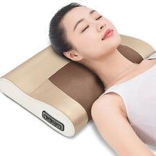Electric Head Neck Massage Pillow Kneading shiatsu Massager Shoulder Pain Relief