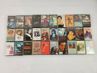 Cassette Tapes Random Lot Of 30 Rock Country Pop Fast Ship