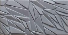 5qm/10 St. 3D Wandpaneel XPS Deckenplatten Dekorplatten Deckenfliesen ROCK Grau