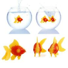 3Pc Aquarium Fish Tank Plastic Swimming Gold Fish Ornament Artificial Decoration