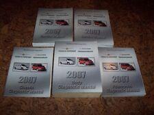 2007 Dodge Caravan Shop Service Repair & Diagnostic Manual SE SXT 2.4L & 3.3L