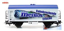 Marklin 44206  Refrigerator Car Mentos - H0 Scale 1:87