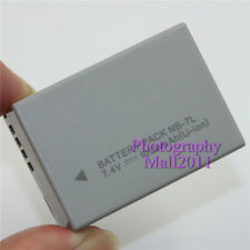 Replacement For Canon NB-7L Battery For Canon IXUS120IS Powershot SX30IS G10 G12