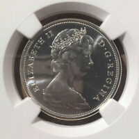 1967 Canada 50 Cents NGC PL 66 - Silver - Confederation Centennial - Wolf