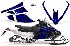 Arctic Cat F Series Sled Wrap Snowmobile Graphics Kit Stickers Decals HAVOC BLUE