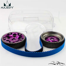 Timing Belt + Cam Cover + Cam Gear Pulley Kit For Toyota 1JZGTE 1JZ-GTE 88-92 PL