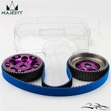 Timing Belt + Cam Cover + Cam Gear Pulley Kit For Toyota 1JZGTE 1JZ-GTE 88-92 PL