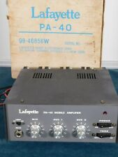 Vintage Lafayette PA-40 Mobile Amplifier
