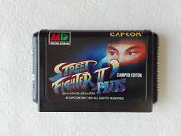 Street Fighter 2 II Dash Plus MD Genesis CAPCOM Sega Mega Drive From Japan