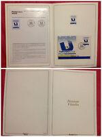 FOLDER GRANDI EVENTI 2003 UNIVERSIADI TARVISIO DIVISIONE FILATELIA ANN.TARVISIO