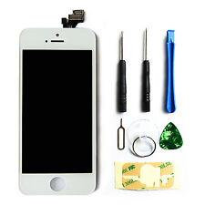 LCD Display Touchscreen Komplettset Front Glas für iPhone 5 Weiß