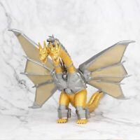 King Ghidorah Gold Three Headed Dragon Action Figure Toy Model Mecha 3 Monster