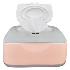 Baby Wet Wipes Warmer Dispenser Holder And Case With Easy Press On/Off