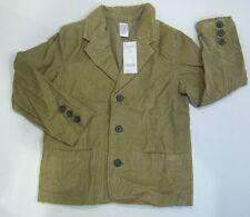 NWT Gymboree Aviator School M 7-8 Tan Corduroy Blazer Sports Coat Jacket