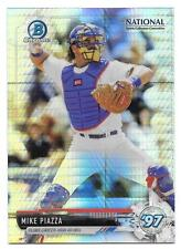 Mike Piazza 2017 Bowman Chrome National Sports Collector Prizm Refractor NSCC