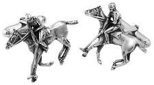 Jugador De Polo Gemelos de plata esterlina ley 925 nuevo de Ari D Norman