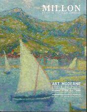 CATALOGUE DE VENTES AUX ENCHERES MILLON--ART MODERNE ECOLE DE PARIS 2014