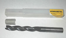 KENNAMETAL 3 FLUTE END MILL SOLID CARBIDE EXTRA LONG STRAIGHT SH COATED K30F-DCF