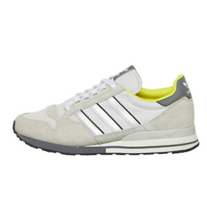 adidas Originals ZX 500 Men Lifestyle Shoes Sneakers New Grey FW2809