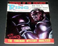 THE RING BOXING MAGAZINE NOVEMBER 1972  JOE FRAZIER