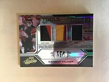 2008 ABSOLUTE T OF THE T TRIPLE MATERIAL BLACK SPECTRUM  5/50 CARSON PALMER