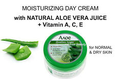 ALOE FACE DAY CREAM w NATURAL Aloe Vera Juice + Vitamins; Moisture - 100ml
