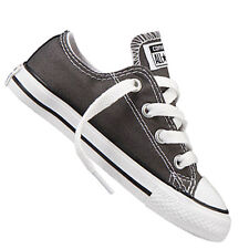Converse Chuck Taylor All Star Ox Junior Kids Trainer Charcoal 3j794 1 UK 1