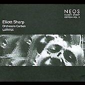 Larynx by Elliott Sharp/Orchestra Carbon (CD, Feb-2008, Neos Productions)