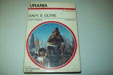 URANIA MONDADORI-N. 1034-EDGAR PANGBORN-DAVY,E OLTRE-26 OTTOBRE 1986