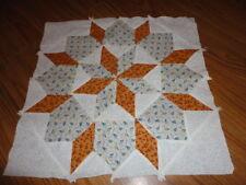 Plastic Templates - Star of Bethlehem quilt
